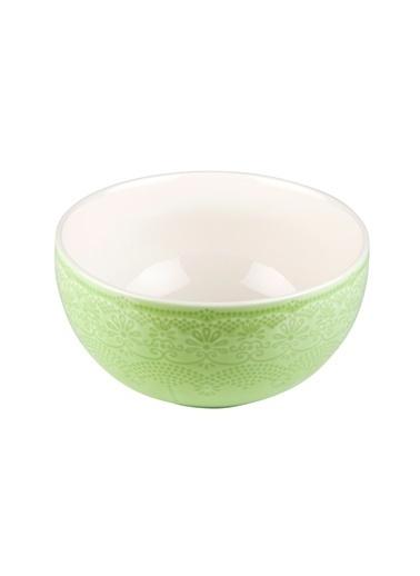 Kanca Ev Dantel Salata Kasesi, 16Cm. Yeşil Yeşil